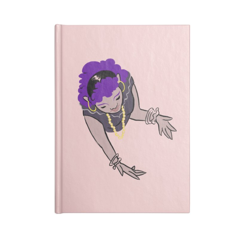 Girl Magic Accessories Lined Journal Notebook by Stephanie Gobby's Artist Shop