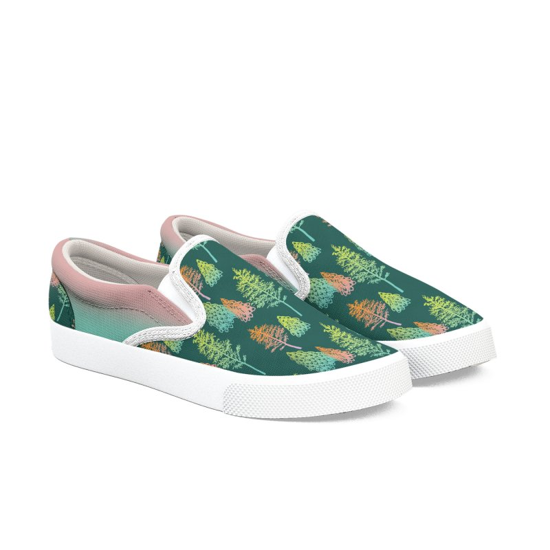 Gradient Forest Men's Shoes by Stephanie Gobby's Artist Shop