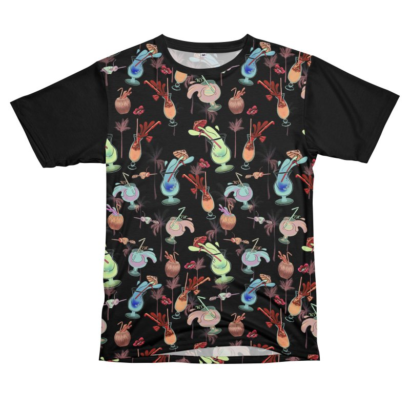 Tropical Cocktails - zombie Men's Cut & Sew by Stephanie Gobby's Artist Shop