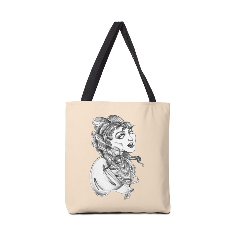 Fortune Teller Accessories Tote Bag Bag by Stephanie Gobby's Artist Shop