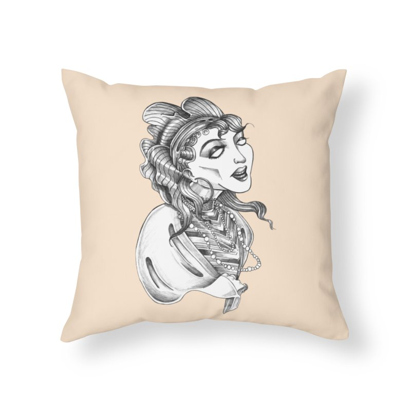 Fortune Teller Home Throw Pillow by Stephanie Gobby's Artist Shop