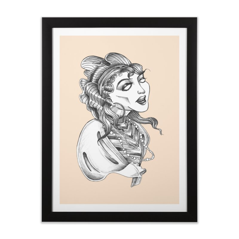 Fortune Teller Home Framed Fine Art Print by Stephanie Gobby's Artist Shop