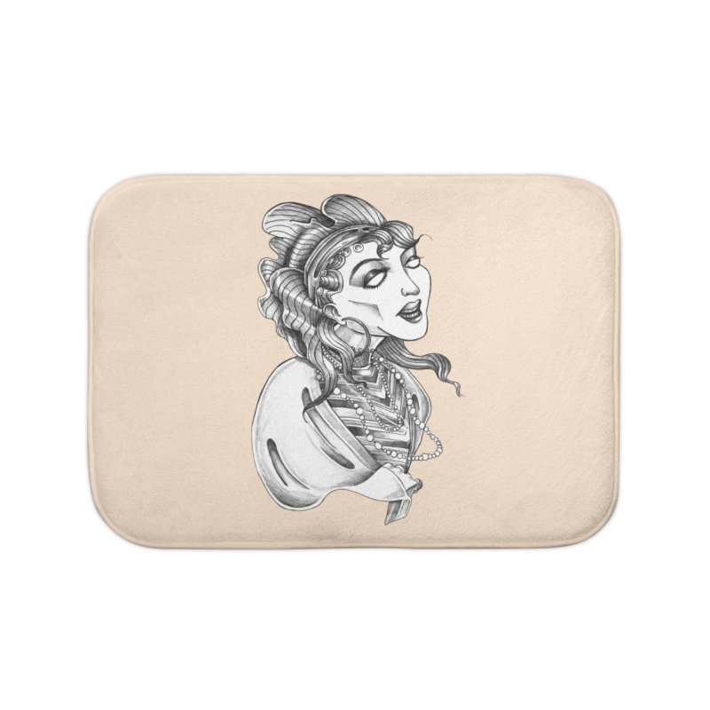 Fortune Teller Home Bath Mat by Stephanie Gobby's Artist Shop