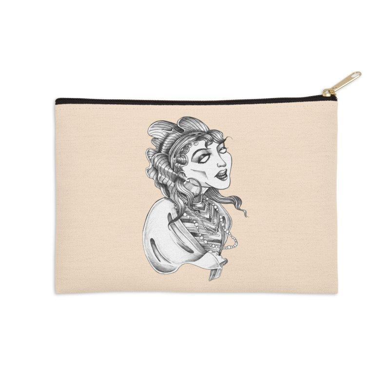 Fortune Teller Accessories Zip Pouch by Stephanie Gobby's Artist Shop