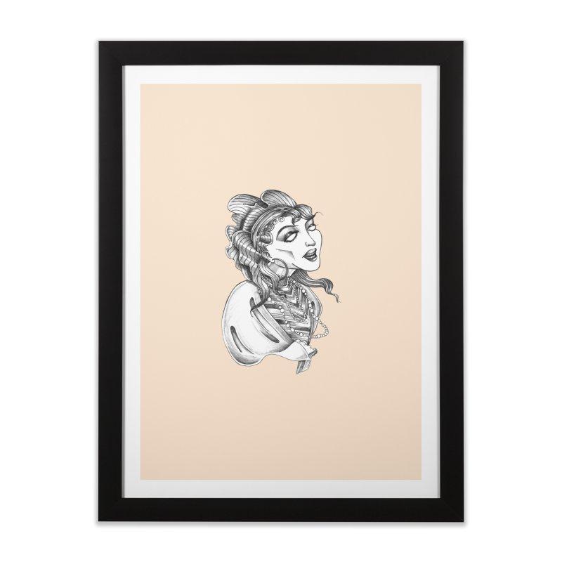 Fortune Teller Home Framed Fine Art Print by Stephanie Gobby's Artist Shop