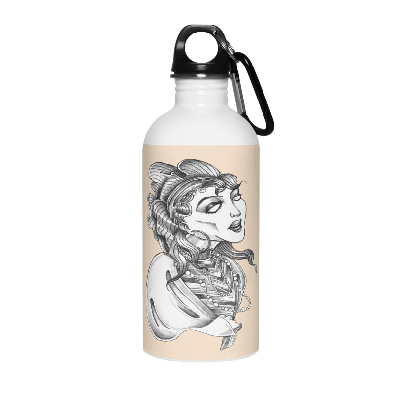 Fortune Teller Accessories Water Bottle by Stephanie Gobby's Artist Shop