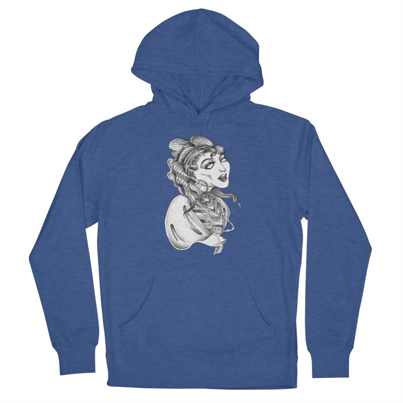Fortune Teller Men's French Terry Pullover Hoody by Stephanie Gobby's Artist Shop