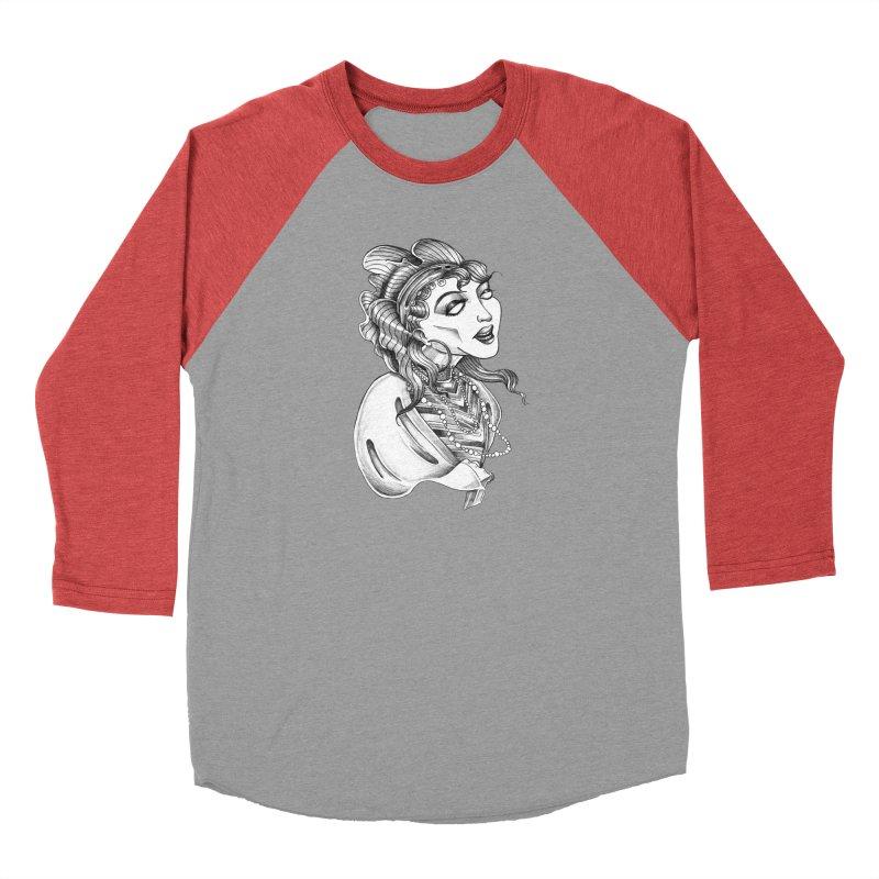 Fortune Teller Men's Baseball Triblend Longsleeve T-Shirt by Stephanie Gobby's Artist Shop