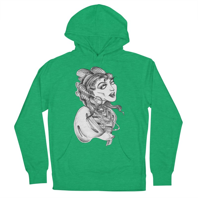 Fortune Teller Women's French Terry Pullover Hoody by Stephanie Gobby's Artist Shop