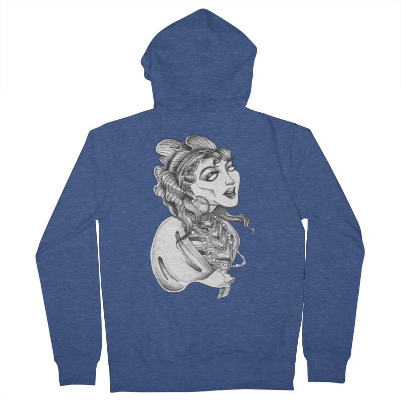Fortune Teller Women's French Terry Zip-Up Hoody by Stephanie Gobby's Artist Shop