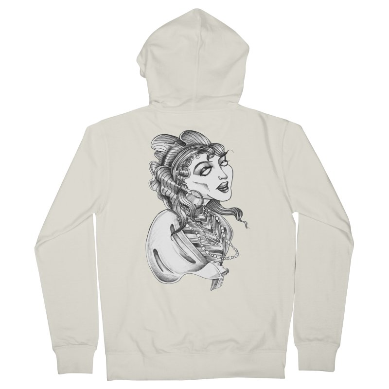 Fortune Teller Women's Zip-Up Hoody by Stephanie Gobby's Artist Shop