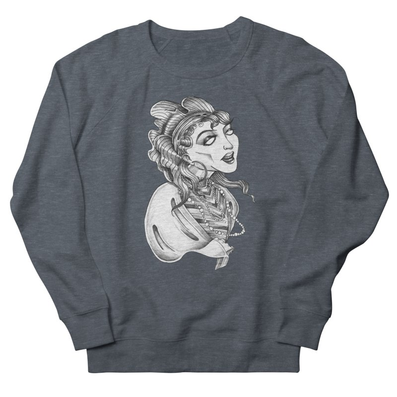 Fortune Teller Men's French Terry Sweatshirt by Stephanie Gobby's Artist Shop