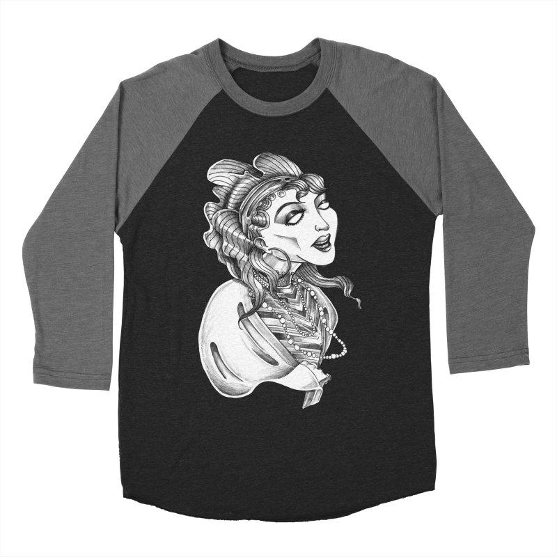 Fortune Teller Women's Baseball Triblend Longsleeve T-Shirt by Stephanie Gobby's Artist Shop
