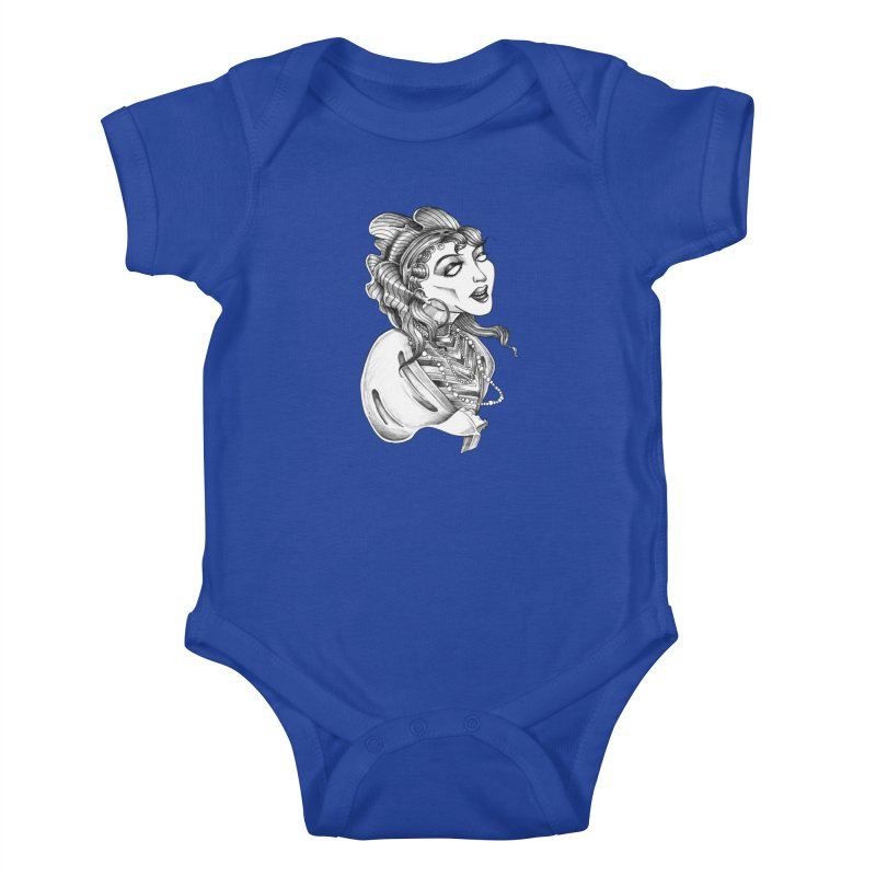 Fortune Teller Kids Baby Bodysuit by Stephanie Gobby's Artist Shop