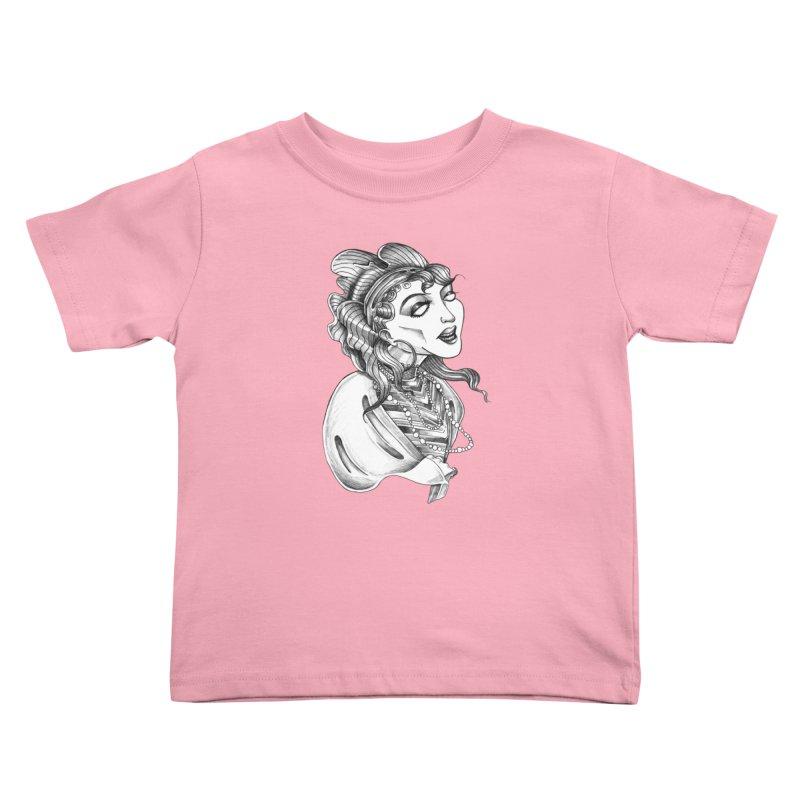 Fortune Teller Kids Toddler T-Shirt by Stephanie Gobby's Artist Shop