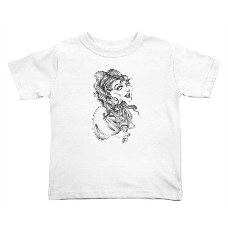 Fortune Teller Kids Toddler T-Shirt by Stephanie Gobby's Artist Shop