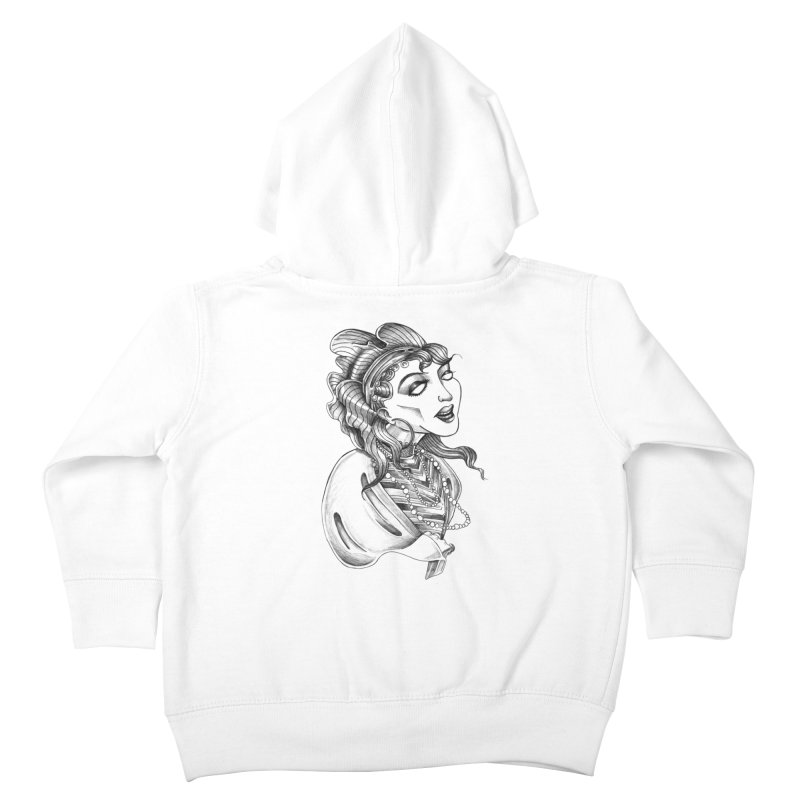 Fortune Teller Kids Toddler Zip-Up Hoody by Stephanie Gobby's Artist Shop