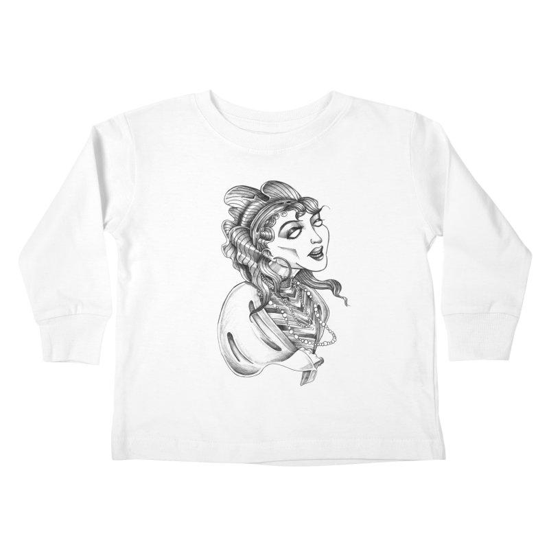 Fortune Teller Kids Toddler Longsleeve T-Shirt by Stephanie Gobby's Artist Shop