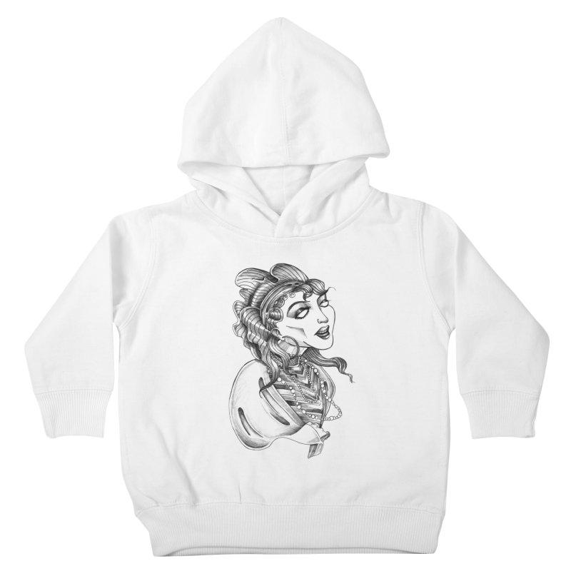 Fortune Teller Kids Toddler Pullover Hoody by Stephanie Gobby's Artist Shop