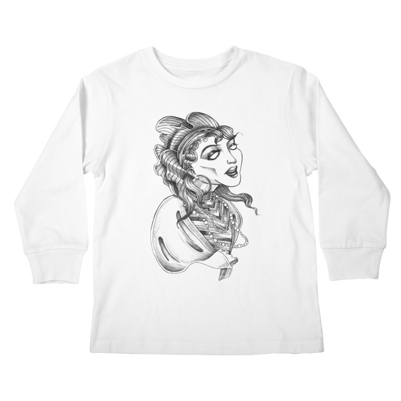 Fortune Teller Kids Longsleeve T-Shirt by Stephanie Gobby's Artist Shop