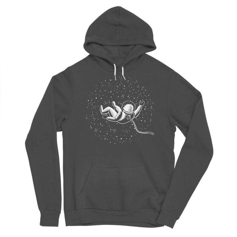 Space Man Men's Pullover Hoody by Stephanie Gobby's Artist Shop