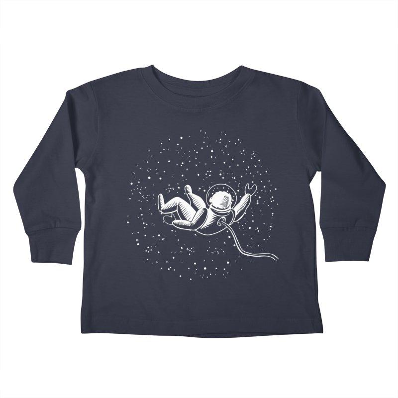 Space Man Kids Toddler Longsleeve T-Shirt by Stephanie Gobby's Artist Shop