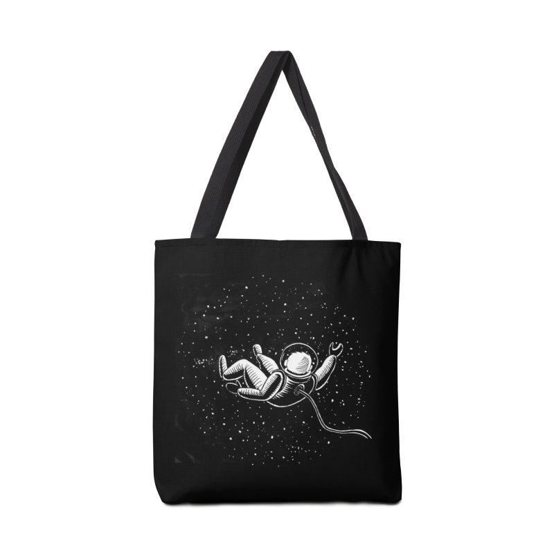 Space Man Accessories Tote Bag Bag by Stephanie Gobby's Artist Shop