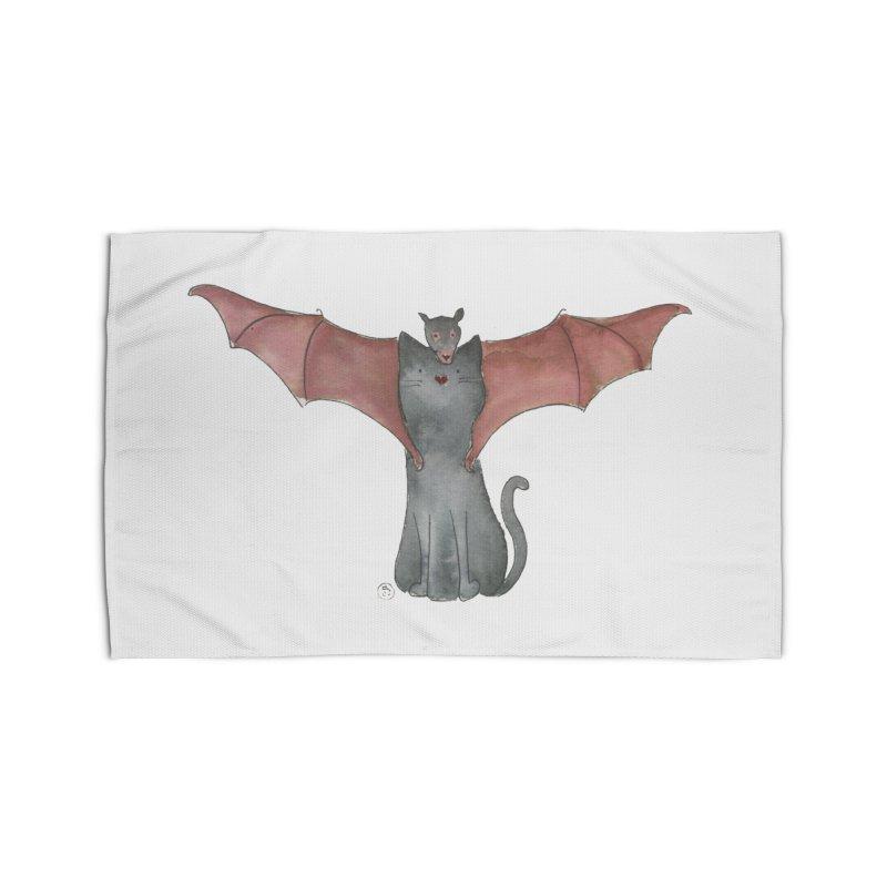 Battycat Home Rug by Stephanie Inagaki