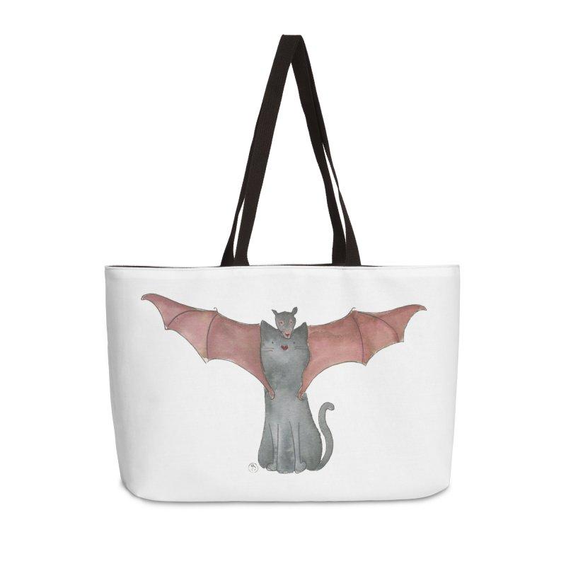 Battycat Accessories Weekender Bag Bag by Stephanie Inagaki
