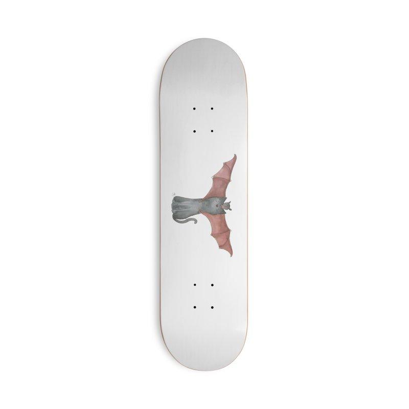 Battycat Accessories Skateboard by Stephanie Inagaki