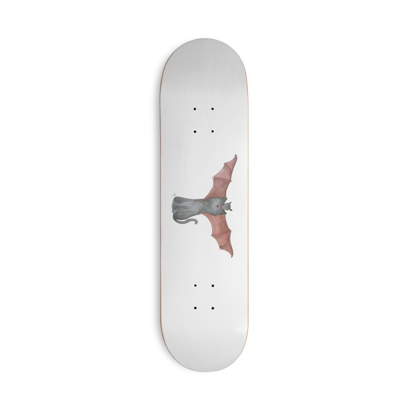 Battycat Accessories Deck Only Skateboard by Stephanie Inagaki