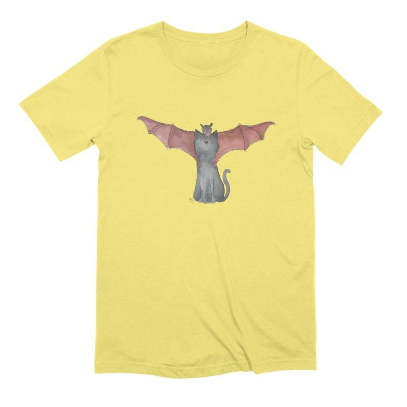 Battycat Men's Extra Soft T-Shirt by Stephanie Inagaki