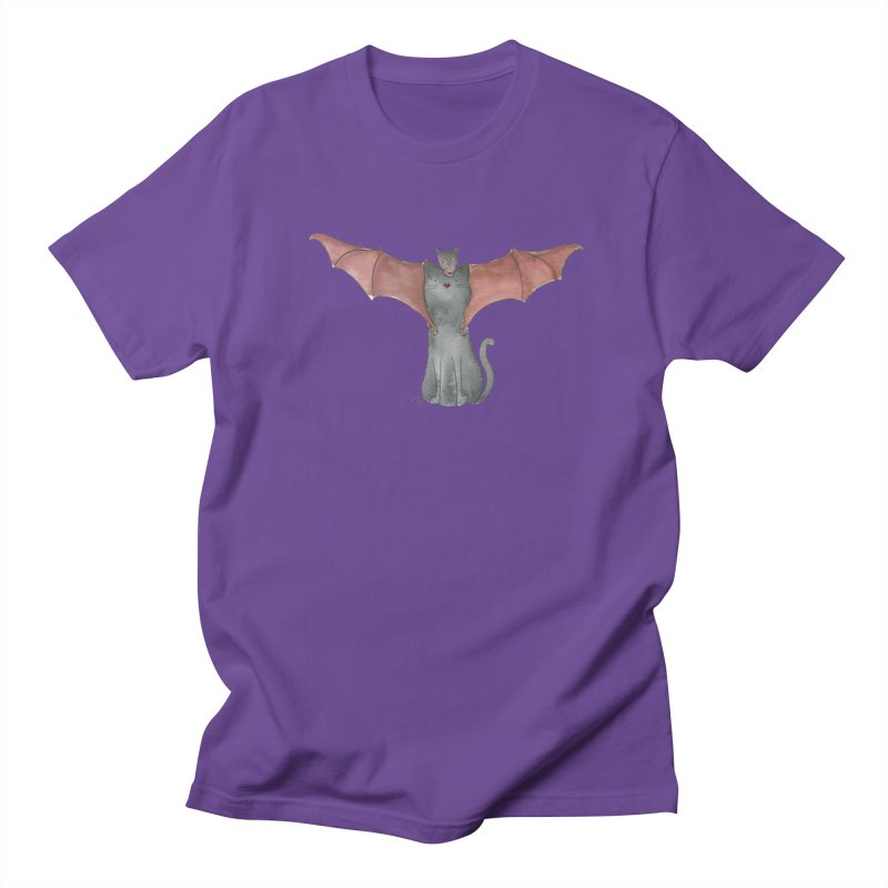 Battycat Men's Regular T-Shirt by Stephanie Inagaki