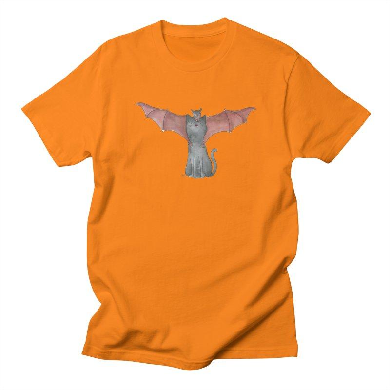 Battycat Women's Regular Unisex T-Shirt by Stephanie Inagaki