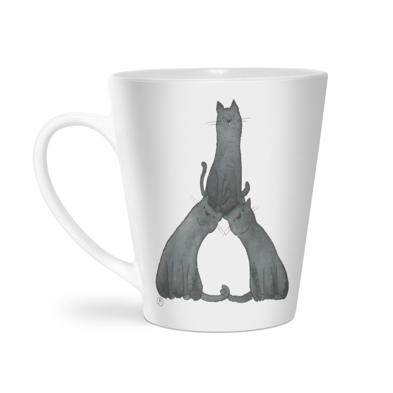 Kitty Pyramid Accessories Mug by Stephanie Inagaki