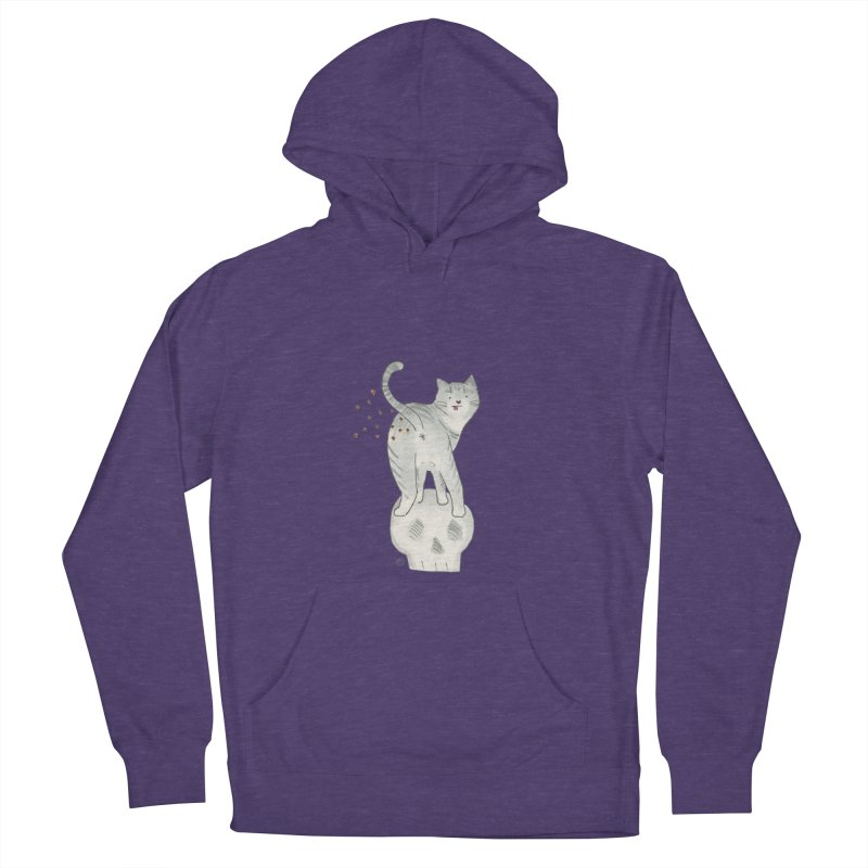 Kitty Sparkles Women's French Terry Pullover Hoody by Stephanie Inagaki