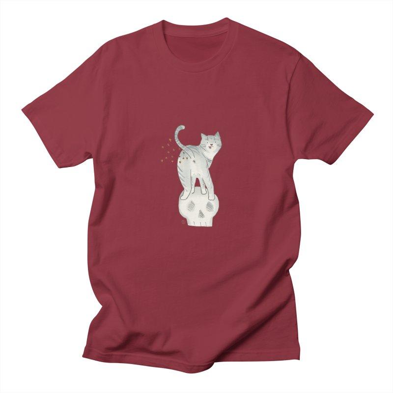 Kitty Sparkles Women's Regular Unisex T-Shirt by Stephanie Inagaki