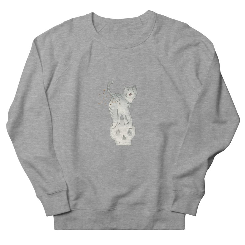 Kitty Sparkles Women's French Terry Sweatshirt by Stephanie Inagaki