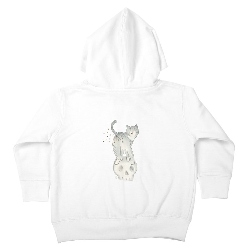 Kitty Sparkles Kids Toddler Zip-Up Hoody by Stephanie Inagaki