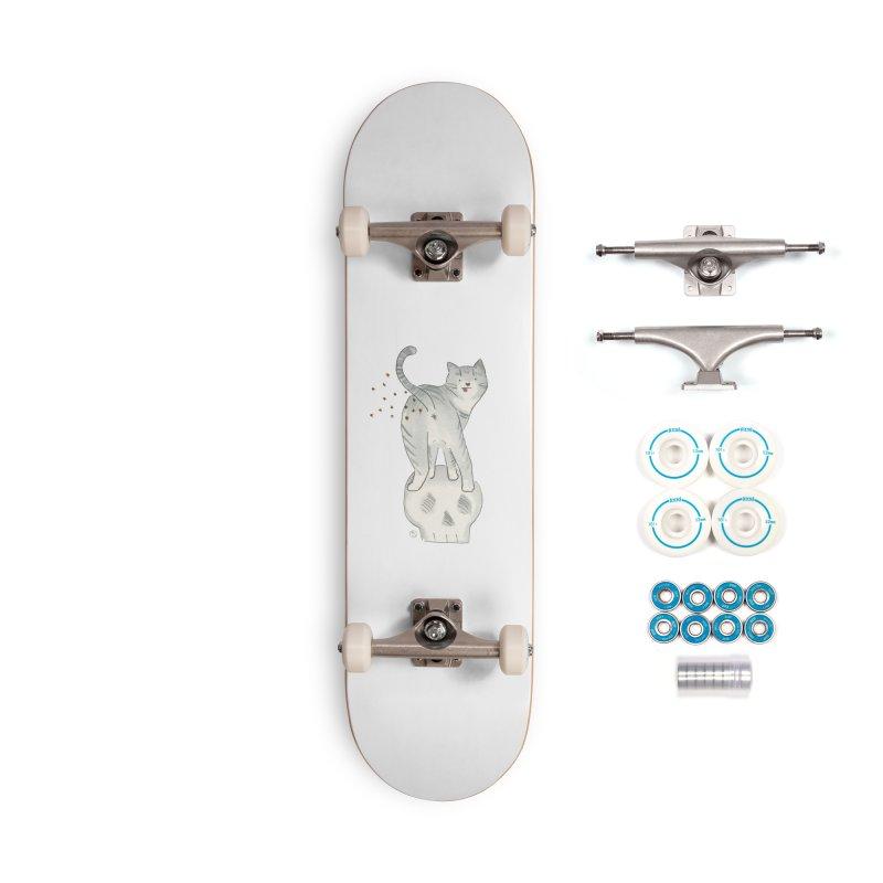 Kitty Sparkles Accessories Skateboard by Stephanie Inagaki