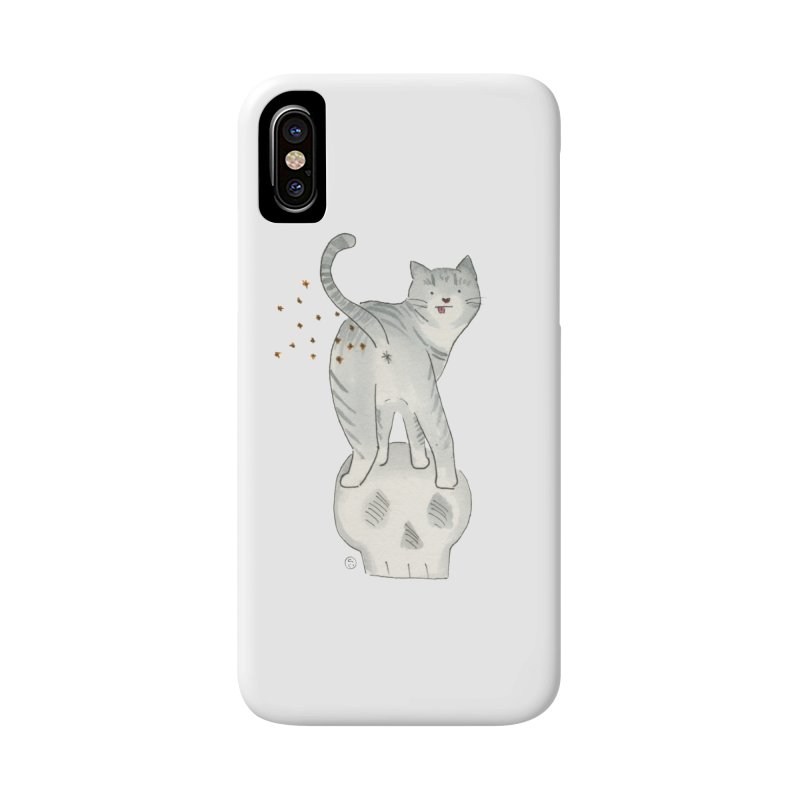 Kitty Sparkles Accessories Phone Case by Stephanie Inagaki