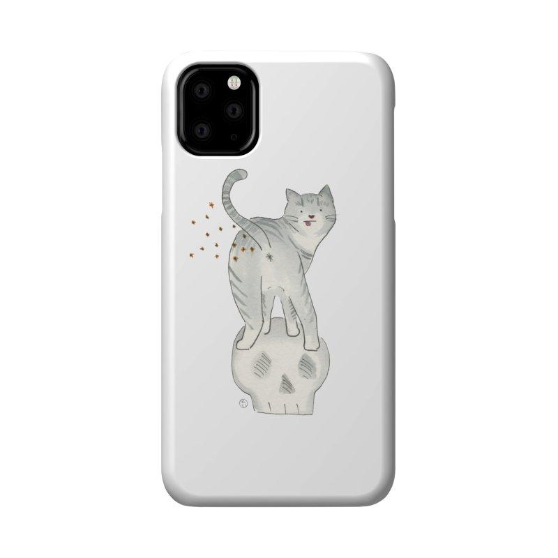 Kitty Sparkles Accessories Phone Case by Stephanie Inagaki