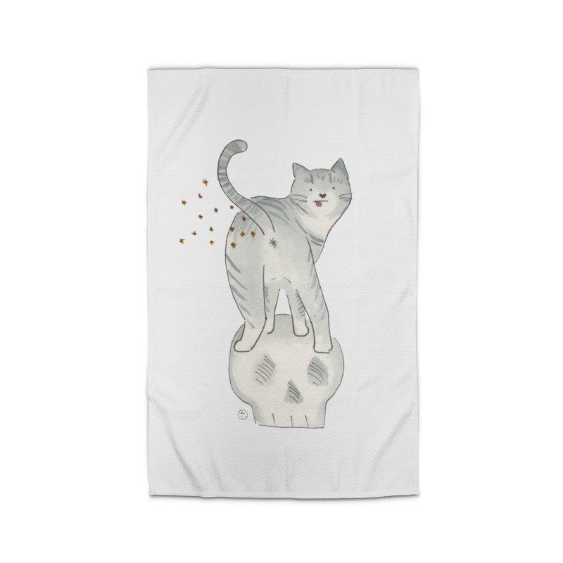 Kitty Sparkles Home Rug by Stephanie Inagaki