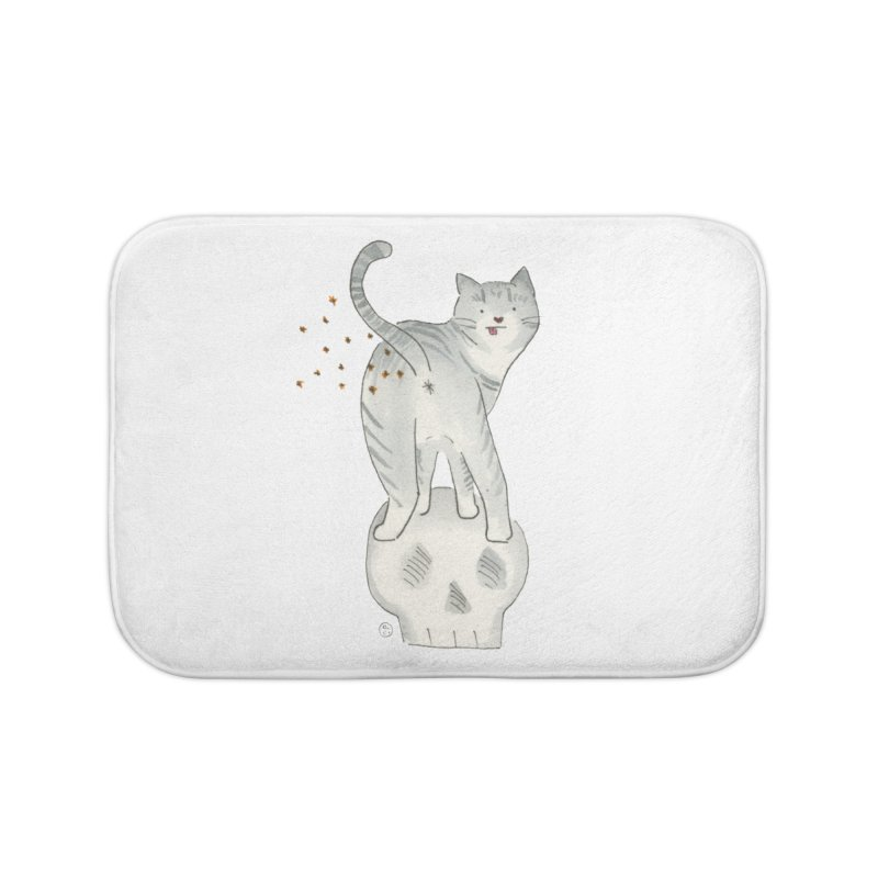 Kitty Sparkles Home Bath Mat by Stephanie Inagaki