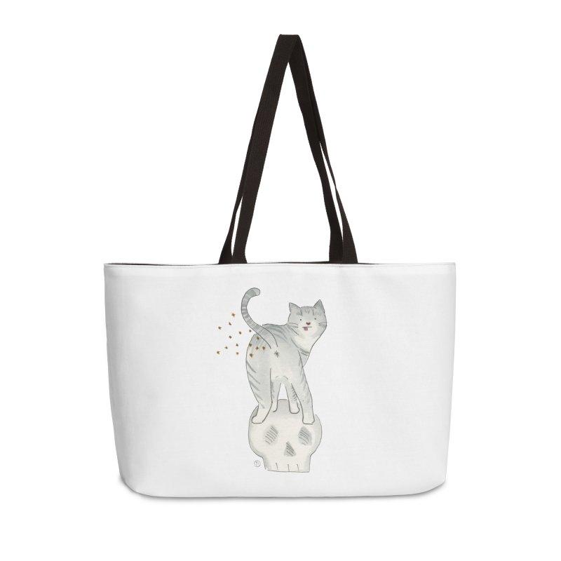 Kitty Sparkles Accessories Weekender Bag Bag by Stephanie Inagaki