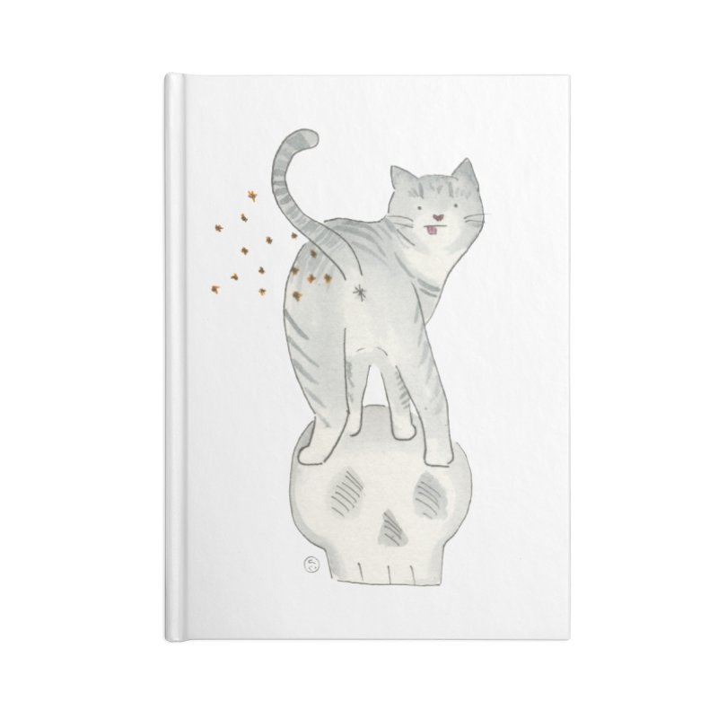 Kitty Sparkles Accessories Blank Journal Notebook by Stephanie Inagaki