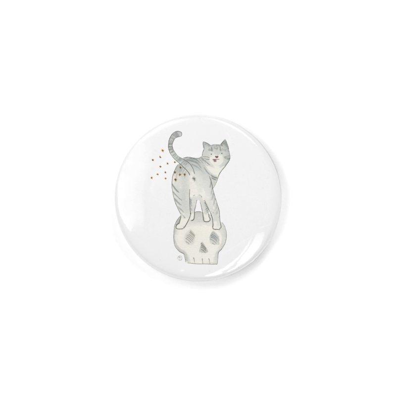 Kitty Sparkles Accessories Button by Stephanie Inagaki