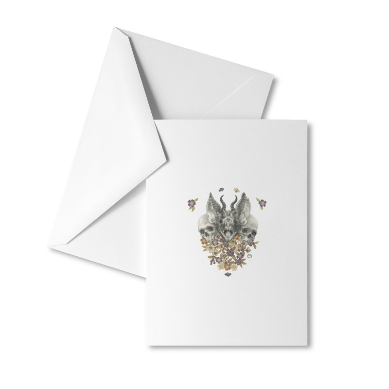 The Sentries Accessories Greeting Card by Stephanie Inagaki