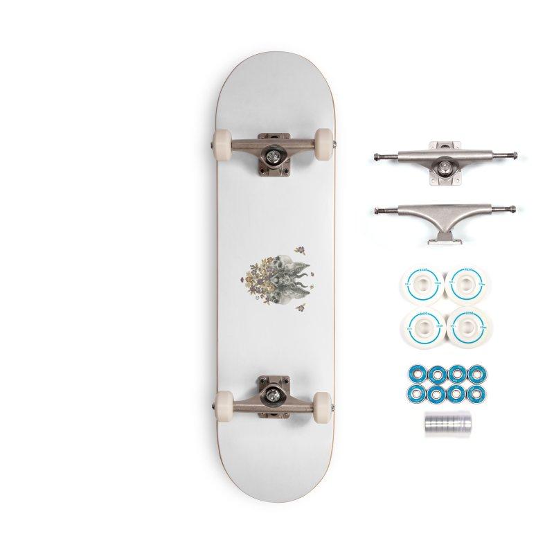 The Sentries Accessories Skateboard by Stephanie Inagaki