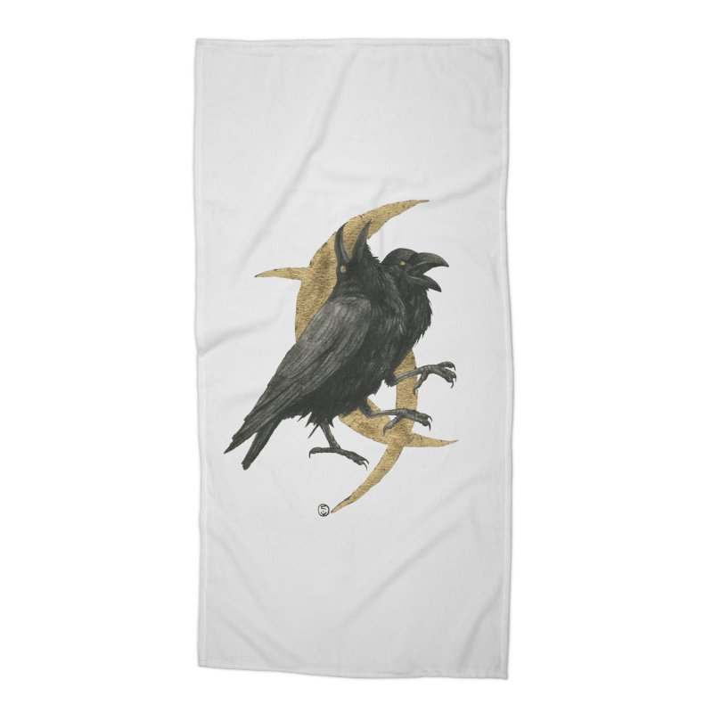 Twin Flames, Fated Hearts Accessories Beach Towel by Stephanie Inagaki